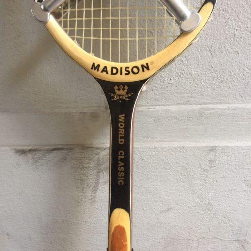 Ancienne raquette de tennis cadre bois