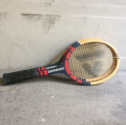 Ancienne raquette tennis Donnay
