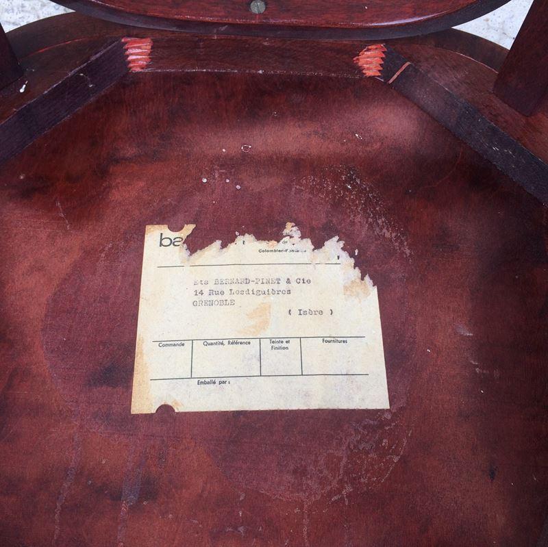 Chaise bistrot baumann datant des ann es 50 - Chaise bistrot ancienne baumann ...