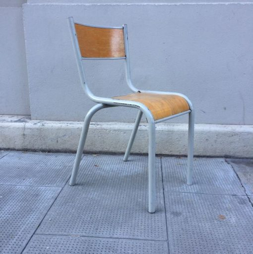 chaise écolier rétro