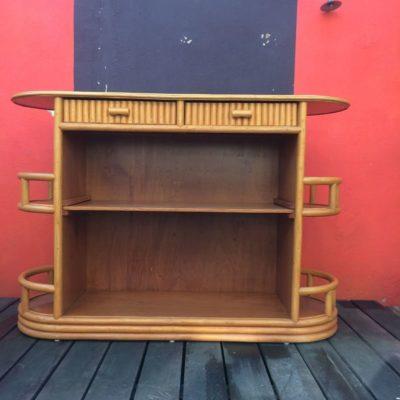 Ancien meuble bar étagère vintage