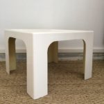 Table basse design Space Age