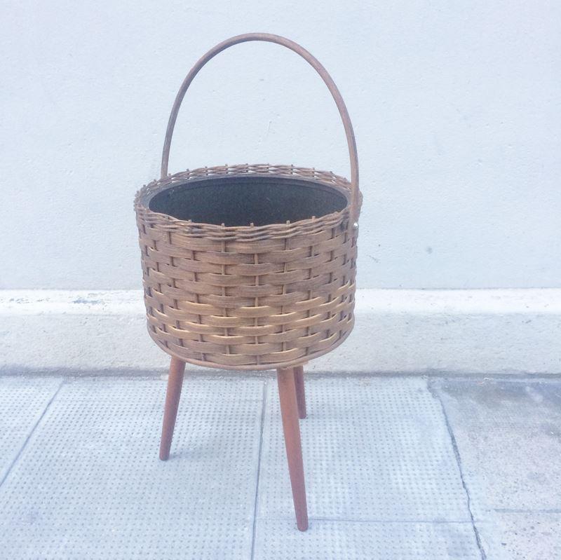 bo te couture travailleuse vintage avec compartiment amovible. Black Bedroom Furniture Sets. Home Design Ideas