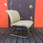 Fauteuil chauffeuse vintage