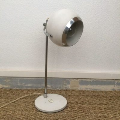 Ancienne lampe de bureau eyeball vintage