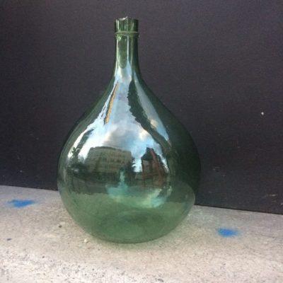 Ancienne bonbonne en verre