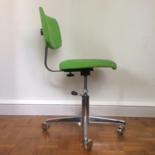 Chaise bureau multi-positions vintage