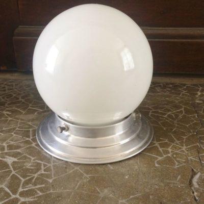 plafonnier globe vintage