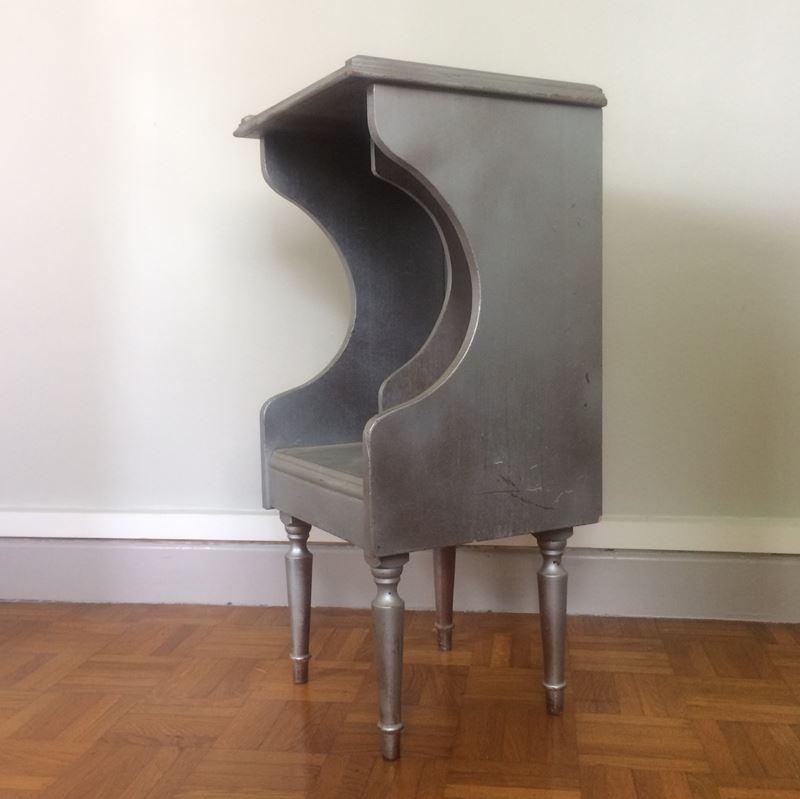 table de chevet vintage relook e. Black Bedroom Furniture Sets. Home Design Ideas