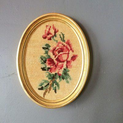 ancienne tapisserie encadré
