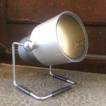 Lampe à poser orientable style industriel