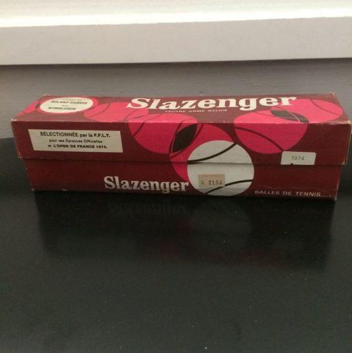 Balles tennis vintage Slazenger