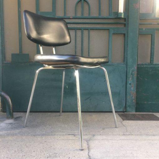 Chaise bureau années 60