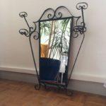 Ancien miroir vestiaire