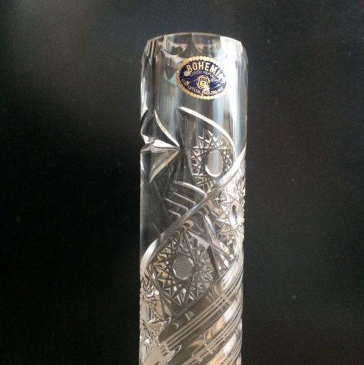 Soliflore en cristal