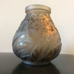 Vase boule art déco Lorrain Nancy
