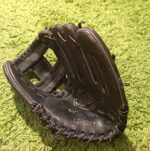Gant Baseball cuir vintage