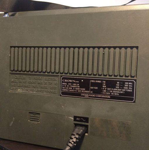 Radio cassette Vintage Ghettoblaster
