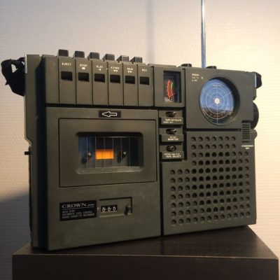 Radiocassette Vintage CROWN