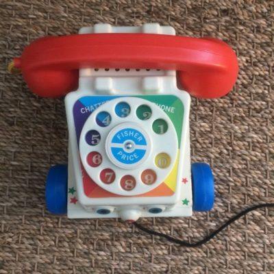 Téléphone Fisher Price vintage