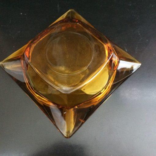 Cendrier vintage verre
