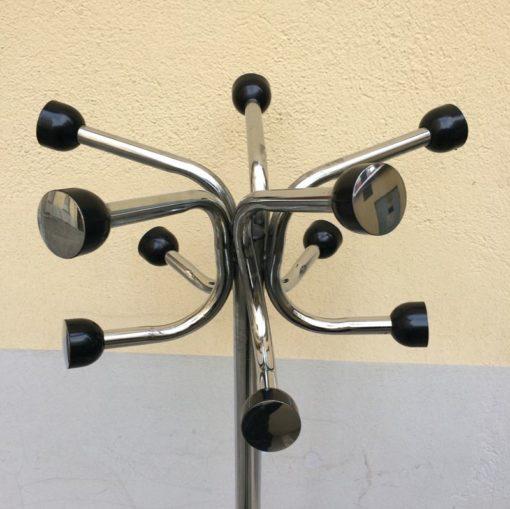 Portemanteaux perroquet vintage métal c.hromé