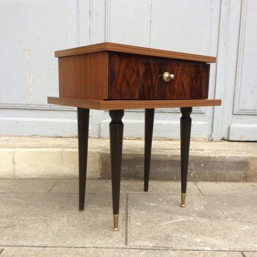 Table de chevet des années 50