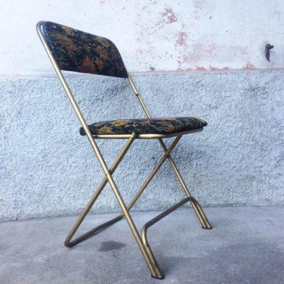 Chaise pliante Lafuma vintage