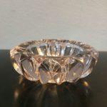 Cendrier Cristal Art Déco