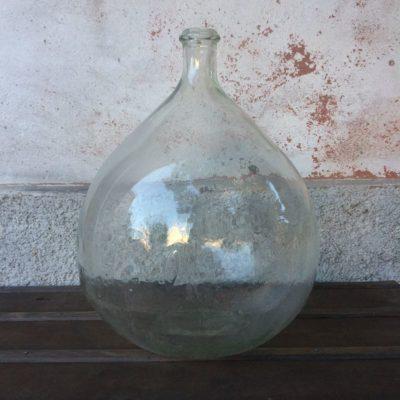 Ancienne Bonbonne Verre transparent vintage