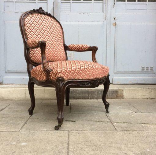 Ancien Fauteuil Style Louis XVI