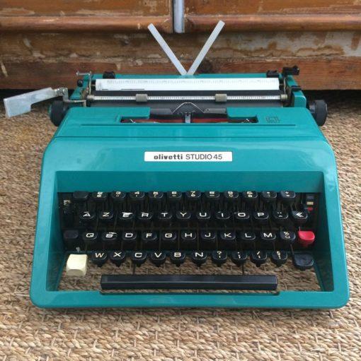 Machine à écrire Olivetti Studio 45 Vintage