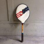 Raquette de tennis cadre bois
