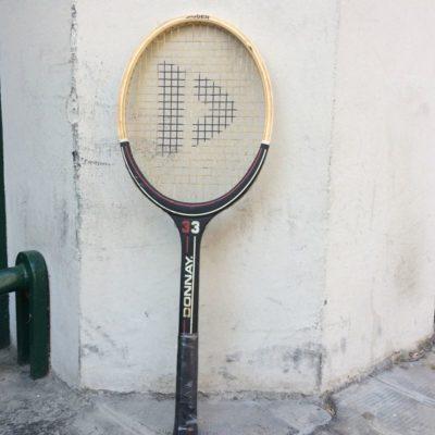 Raquette tennis Donnay 33 vintage