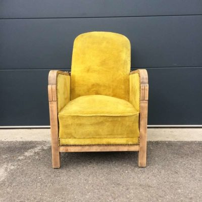 Fauteuil vintage dossier inclinable
