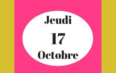 Apéro Croquis Octobre 2019