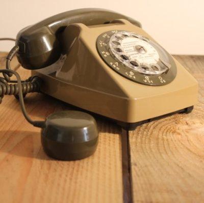 Téléphone socotel Kaki