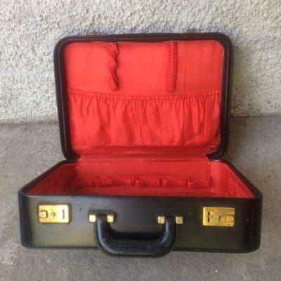 valise skaï noir