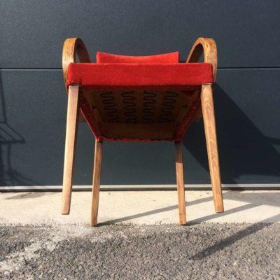 Chaise bridge vintage
