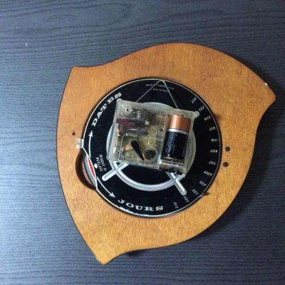 Horloge formica vintage