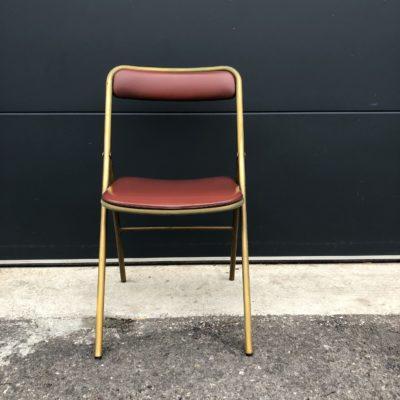 chaise vintage soudex vinyl
