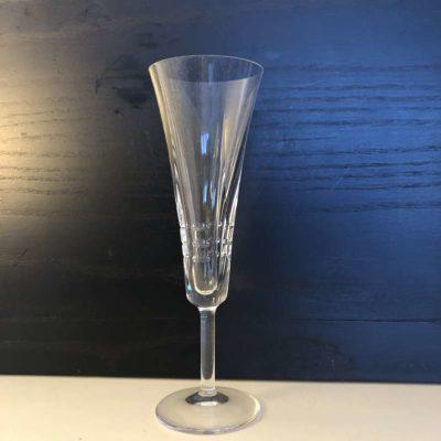 Anciennes Flutes à champagne cristal