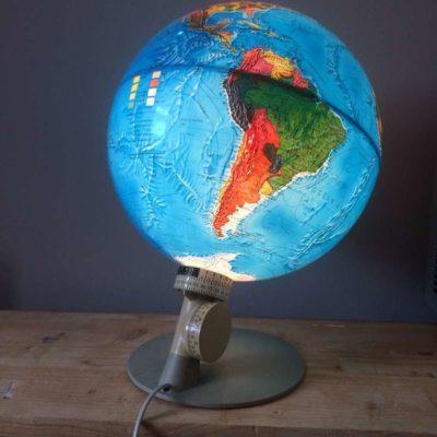 Ancien globe terrestre scan globe