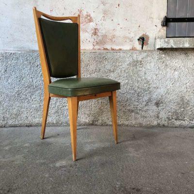 Chaise design scandinave skai vert