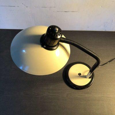 Lampe articulée vintage crème