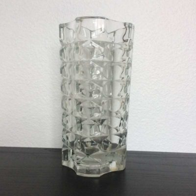 Vase vintage cristal d'Arques Luminarc