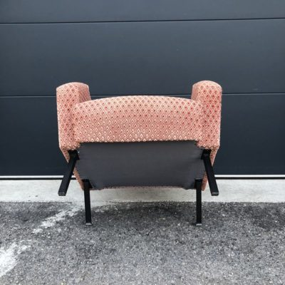 fauteuil crapaud vintage