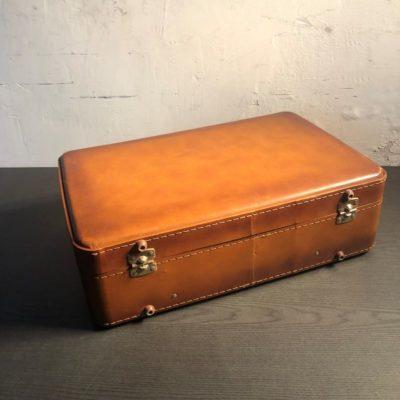 Valise vintage simili cuir