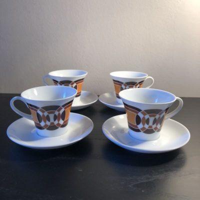 Tasses à café vintage made in Germany