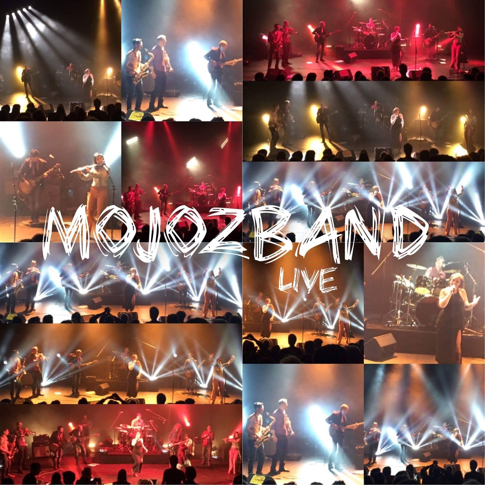 Les MojozBand en concert au café Brocante Grenoble